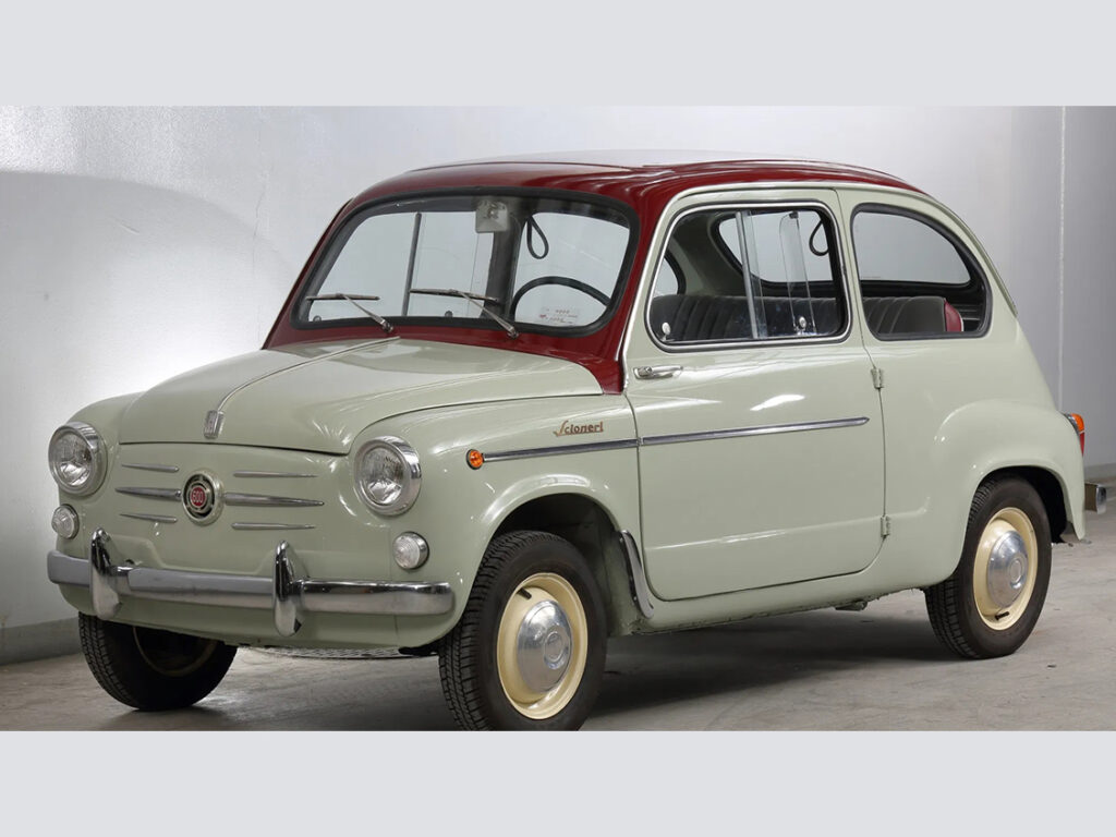 フィアット 600 (カロッツェリア・シオネリ) | Garage伊太利屋